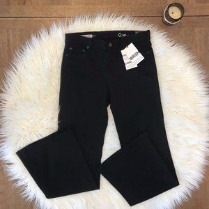 2/25 NWT Black Gap Jeans 27 Short Authentic Flare